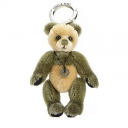 Charlie Bears Mohair Keyring Welly 12cm Limited Edition 2013 Teddy Bear